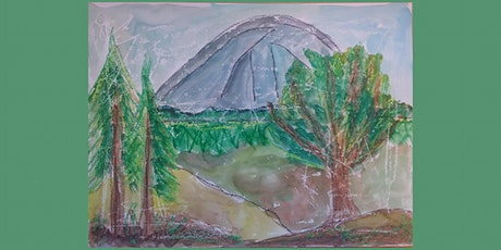 Northwest Landscape Watercolor and Wax Resist Painting tickets