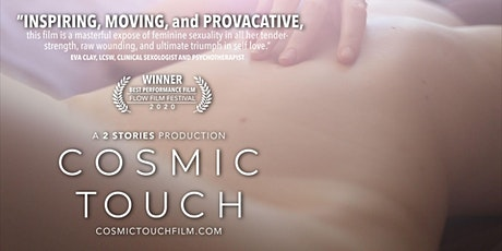 Cosmic Touch: film & reception tickets