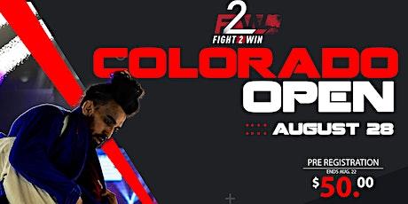 F2W Colorado Open tickets