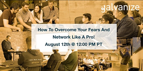 How To Overcome Your Fears And Network Like A Pro! tickets