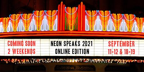 Neon Speaks 2021 Early Bird Passport biglietti