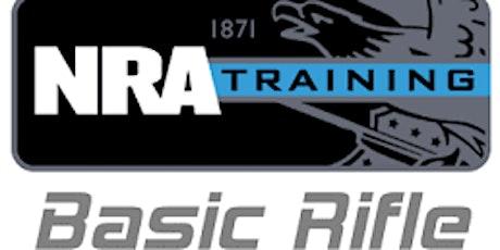 NRA BASIC RIFLE  TRAINING tickets