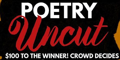 Poetry UNCUT tickets