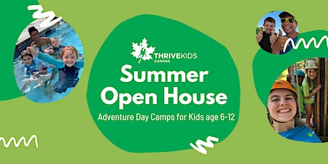 FREE OPEN HOUSE: Kids Adventure Day Camps in Edmonds tickets