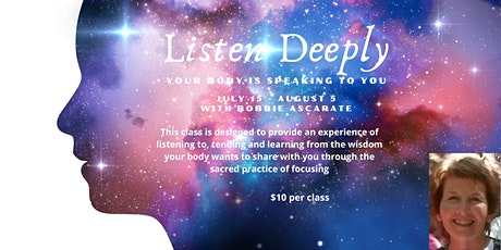 LISTEN DEEPLY - Your Body is Speaking to You tickets