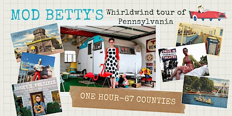 Mod Betty's Whirlwind Tour of Pennsylvania tickets