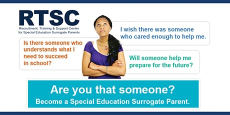 Become a Special Education Surrogate Parent - Orientation Training - MA tickets