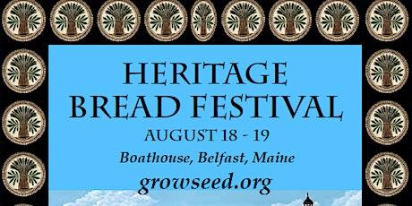Heritage Bread Festival tickets