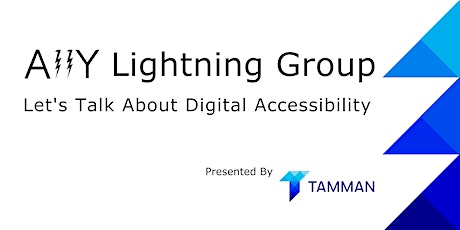 A11y Lightning Group Series (July 2021) tickets