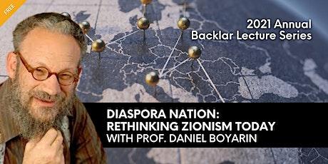 Diaspora Nation: Rethinking Zionism Today tickets