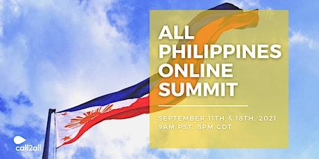 All Philippines Online Summit | Sep 11 & 18 | 9am - 12noon biglietti