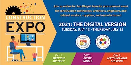 CONSTRUCTION EXPO 2021 tickets