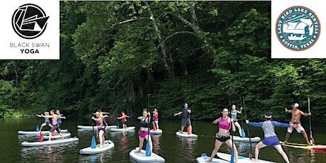 Yoga on Lady Bird Lake with Black Swan Yoga and Lady Bird Lake Rentals tickets