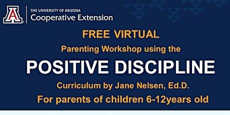 Online Class Series-Positive Discipline Parenting tickets