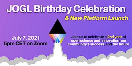JOGL Birthday Celebration & New Platform Launch tickets