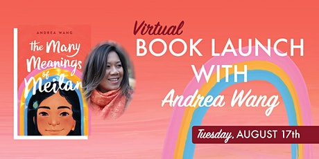 Book Launch with Andrea Wang tickets