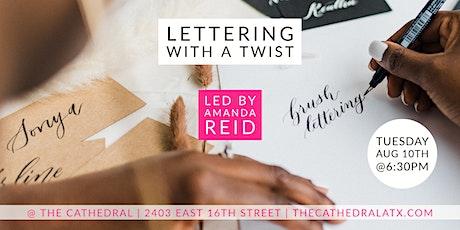 Brush Lettering with Amanda Reid tickets