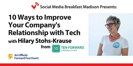 10 Ways To Improve Your Company's Relationship With Tech tickets