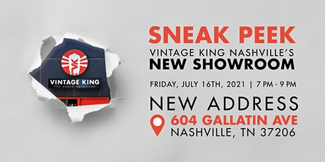 Sneak Peak At Vintage King Nashville's New Showroom tickets