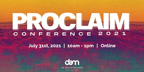 Proclaim Conference tickets