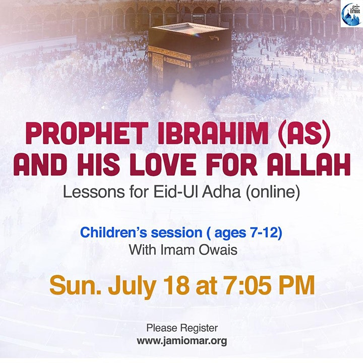 Prophet Ibrahim and his love for Allah (Ages 7 - 12) image