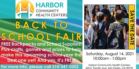 Back to School Fair! Free Backpack and School Supply Giveaway tickets