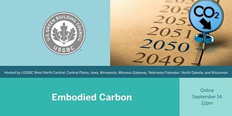 USGBC WNC Lunch and Learn: Embodied Carbon tickets