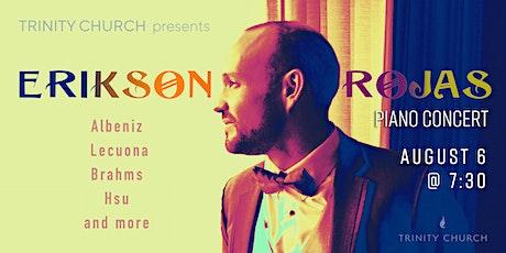 Erikson Rojas Piano Concert tickets