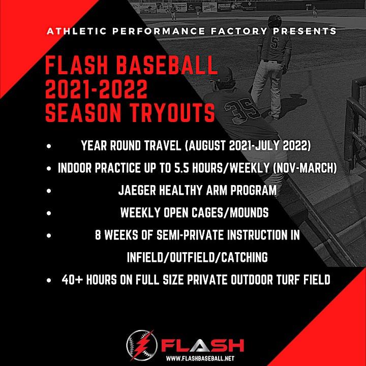 FLASH BASEBALL TRYOUTS image