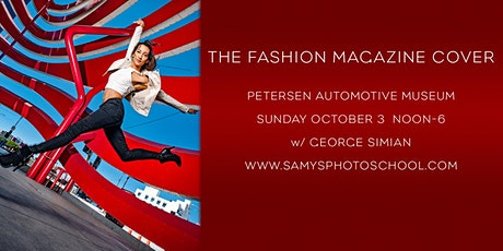 Lighting on Location - The Fashion Magazine Cover with George Simian tickets