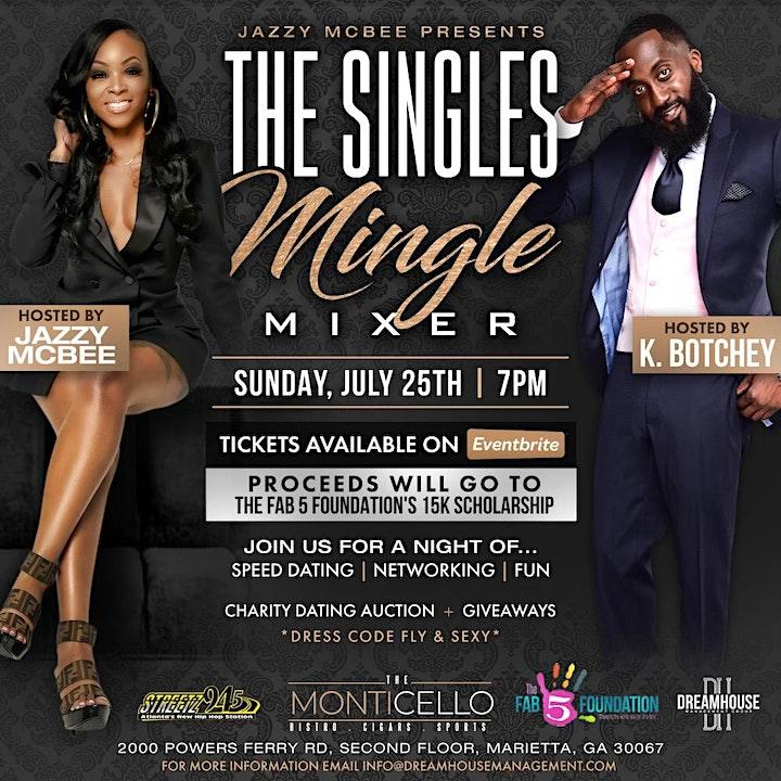 Jazzy McBee's Singles Mingle Mixer image