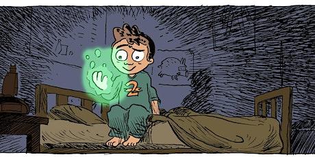 Il cancello delle favole - Timothy Top - laboratorio di fumetti biglietti