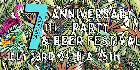 LauderAle's 7th Anniversary Beer Festival tickets