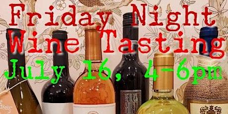 Friday Night Wine Tasting tickets