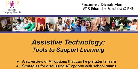Assistive Technology: Tools to Support Learning tickets