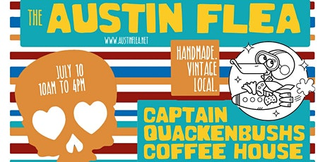 2nd Saturdays Austin Flea at Capt. Quackenbush's tickets