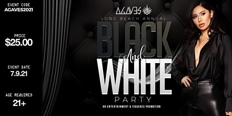 Black and White Party in Long Beach tickets