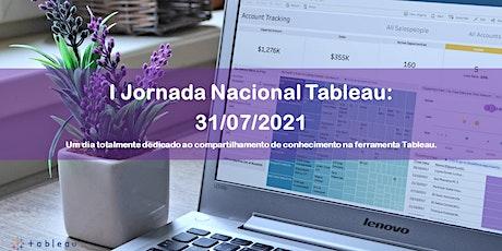 I Jornada Nacional Tableau boletos