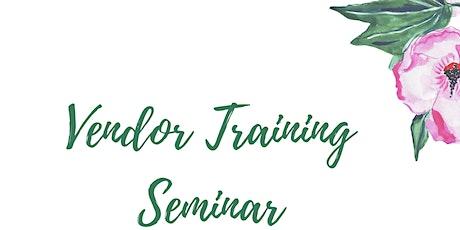 Vendor Training Seminar tickets