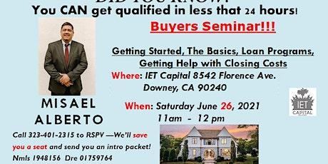 F r e e  Home Buyers Seminar!! tickets