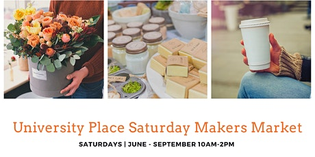 UP Saturday Makers Market tickets