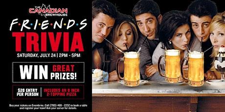Friends Trivia Night (Edmonton - Ellerslie) tickets