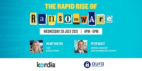 The Rapid Rise of Ransomware… tickets