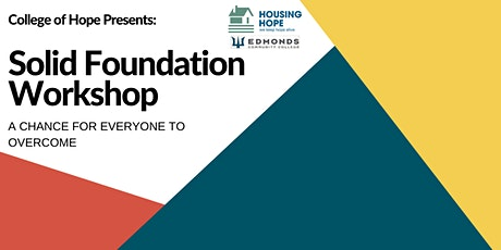 Evening Session - Solid Foundations Workshop - July 2021 tickets