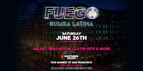 FUEGO Latin Dance Party tickets