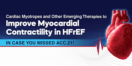 Cardiac Myotropes and Other Emerging Therapies to Improve Myocardial Contra tickets