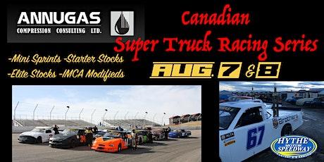 Weekend #2 August 7 & 8 Annugas Compression Canadian Super Truck Series tickets