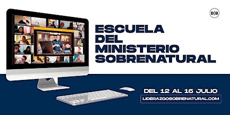 Escuela del Ministerio entradas