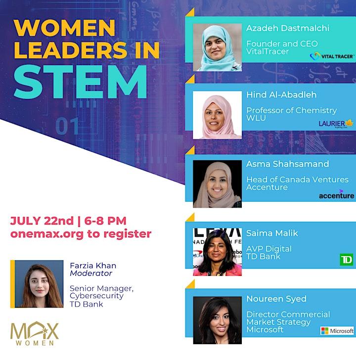 MAX Women in Leadership | Women Leaders in STEM image