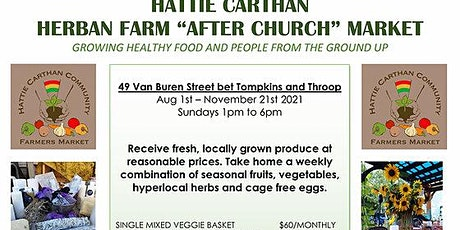 2021 Hattie Carthan Sunday Farmers Market tickets